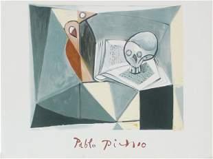 Pablo Picasso (After) - Crane et Livre Tete de Mort et