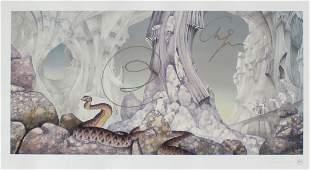 Roger Dean - Relayer (Yes Album Cover Print)