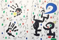 Joan Miro - Cover from Les Essencies de la Terra