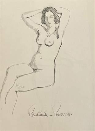 Paul-Emile Pissarro - Les Deux Bras Au-dessus de la