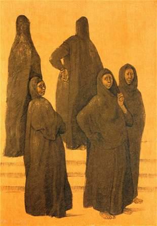 "Francisco Zuniga - ""Impressions of Egypt II"""
