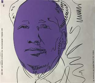 Andy Warhol - Mao (Cropped)