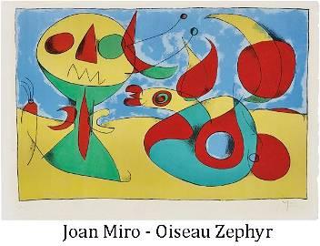 Joan Miro - Oiseau Zephyr (Zephyr Bird)