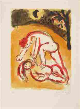 Marc Chagall - Cain and Abel