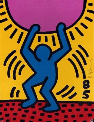 Keith Haring - International Youth Year