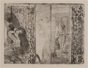 Edgar Degas - Loges D Actrices
