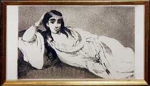 "Edouard Manet ""Odalisque"""