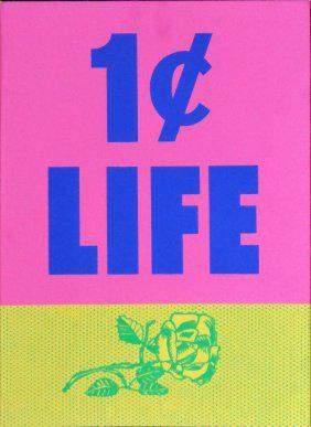 Roy Lichtenstein - Untitled from One Cent Life