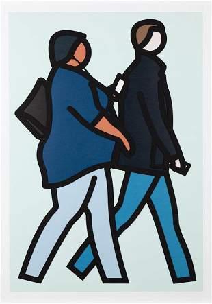 Julian Opie - New York Couple 2
