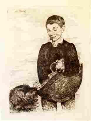Edouard Manet - Le Gamin au Chien