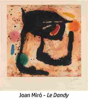 Joan Miro - Le Dandy