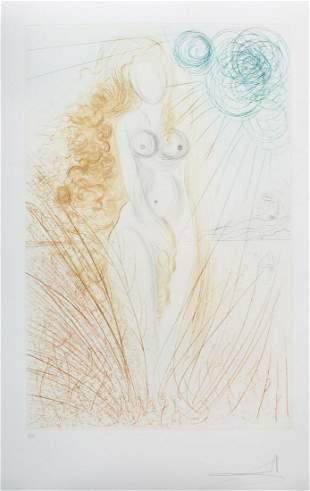 Salvador Dali - Birth of Venus
