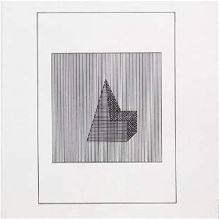 """Sol Lewitt - Untitled VII from """"Ficciones: Jorge Luis"""