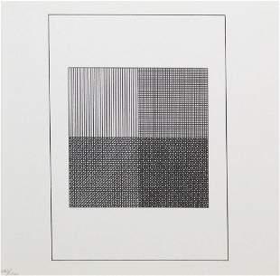 """Sol Lewitt - Untitled XVII from """"Ficciones: Jorge Luis"""