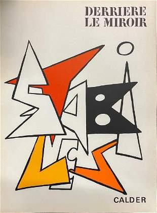 "Alexander Calder - Untitled from 'Derriere le Miroir"""