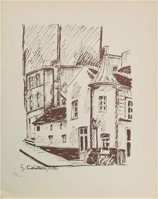 Germain Delatousche (After) - Rue du Mont Cenis