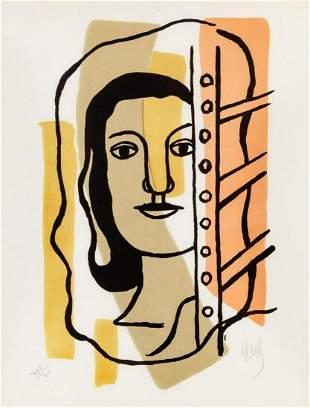 Fernand Leger - Tete de Femme