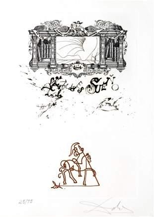 Salvador Dali - La Vida es Sueno Frontispiece