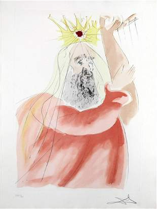Salvador Dali - King David