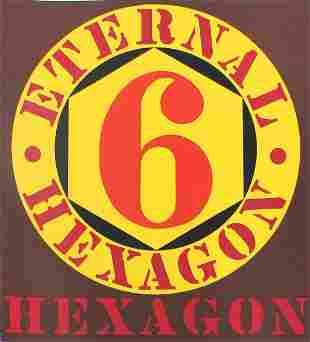 Robert Indiana 1964 Eternal Hexagon