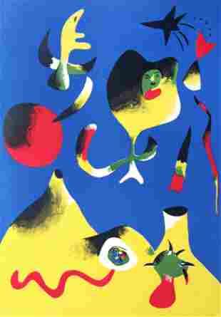 Joan Miro - 1938 Rare L
