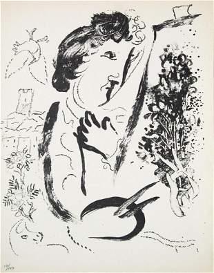 Marc Chagall - Devant le Tableau