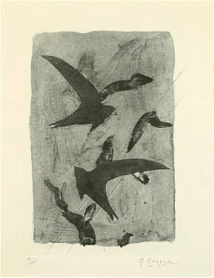 Georges Braque - Birds in Flight