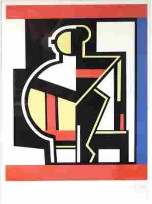 Fernand Leger - Composition mecanique (Mechanical