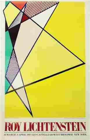 Roy Lichtenstein - Roy Lichtenstein at Leo Castelli