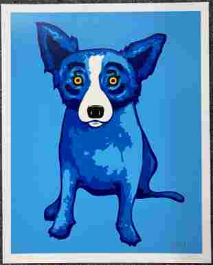 George Rodrigue - Blue Skies Shining On Me