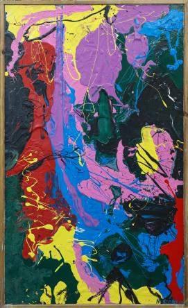 M. Stone - Slash IV (Tribute to Jackson Pollock)