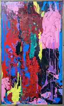 M. Stone - Slash XXVI (Tribute to Jackson Pollock)
