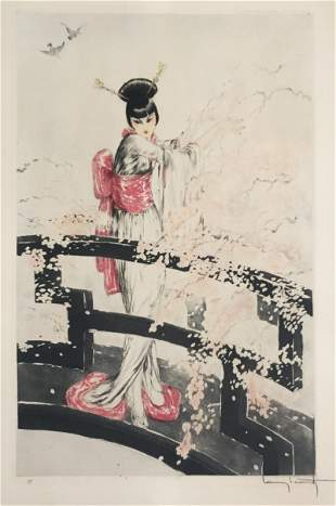 Louis Icart - Madame Butterfly