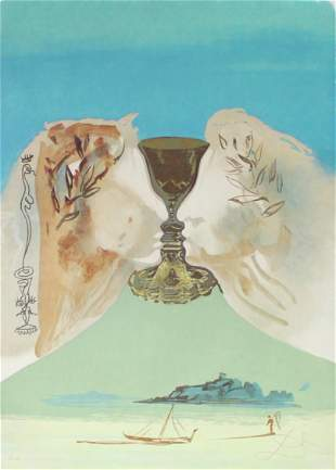 Salvador Dali - The Chalice of Love