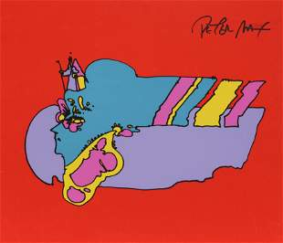 Peter Max - Remembering the Flight