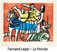 Fernand Leger (After) - La Parade