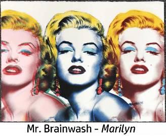 Mr. Brainwash - Marilyn