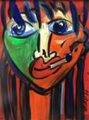 Peter Robert Keil - Elvis Presley as a Painter