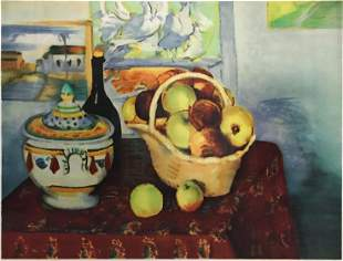 Paul Cezanne - Still Life with Soup Tureen