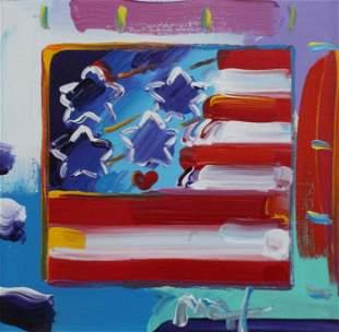 Peter Max - American Flag