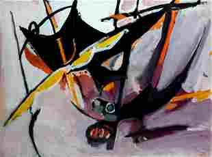 Edouard Pignon - Untitled original gouache painting