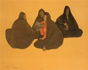 "Francisco Zuniga - Untitled from ""Impressions of Egypt"""