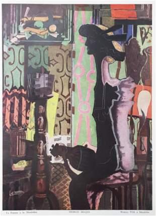 Georges Braque - La Femme a la Mandoline