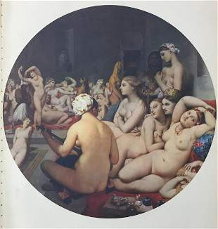 Jean Auguste Dominique Ingre (After) - The Turkish Bath