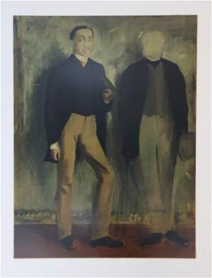 Edgar Degas (After) - Deuz Hommes En Pied