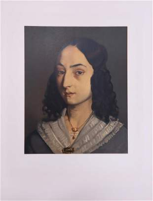 Jean-Francois Millet - Jeune Femme en Buste