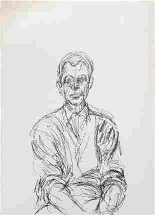 Alberto Giacometti - Bust of a Seated Man