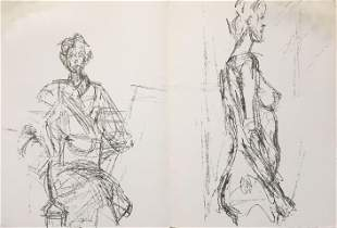 Alberto Giacometti - Untitled I from Derriere le Miroir