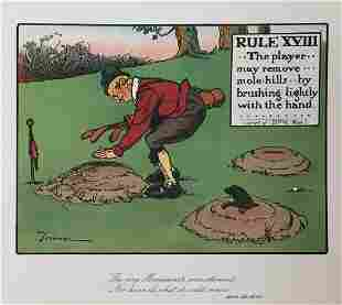 Chas Crombie - The Rules of Golf XVIII