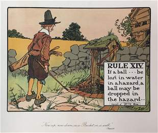 Chas Crombie - The Rules of Golf XIV